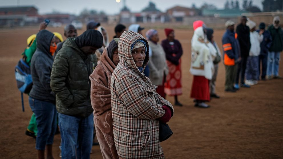 South Africa starts voting amid corruption, unemployment