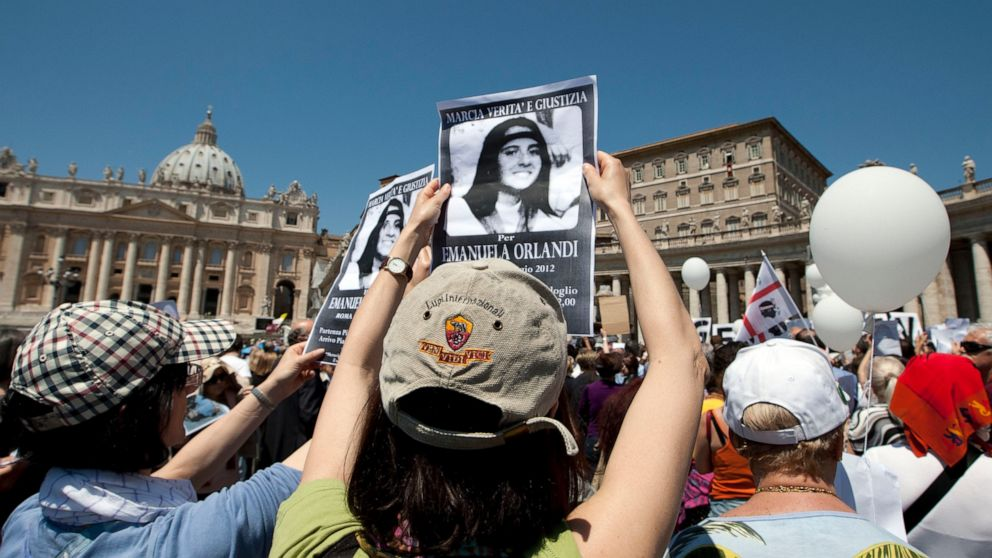 Vatican closes latest probe into girl's 1983 disappearanc thumbnail