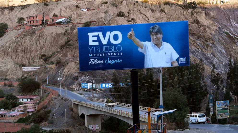Evo Morales Faces Toughest Test To Keep Power In Bolivia Abc News