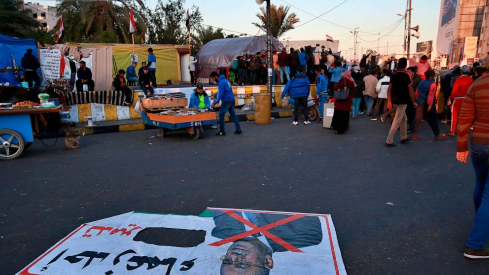 Iraqis protest as deadline to name new prime minister looms