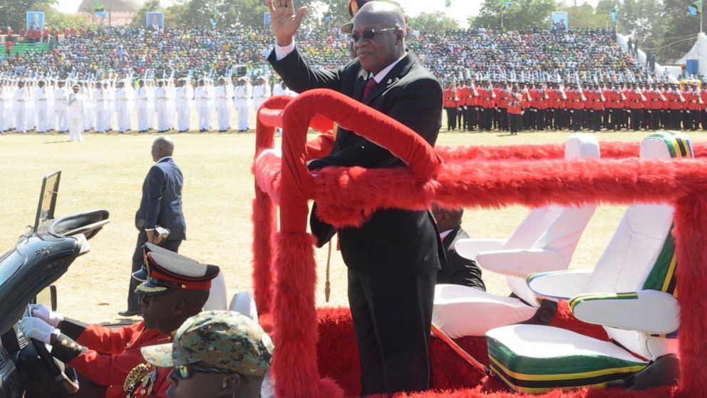 Tanzania's president expresses doubts about COVID vaccines