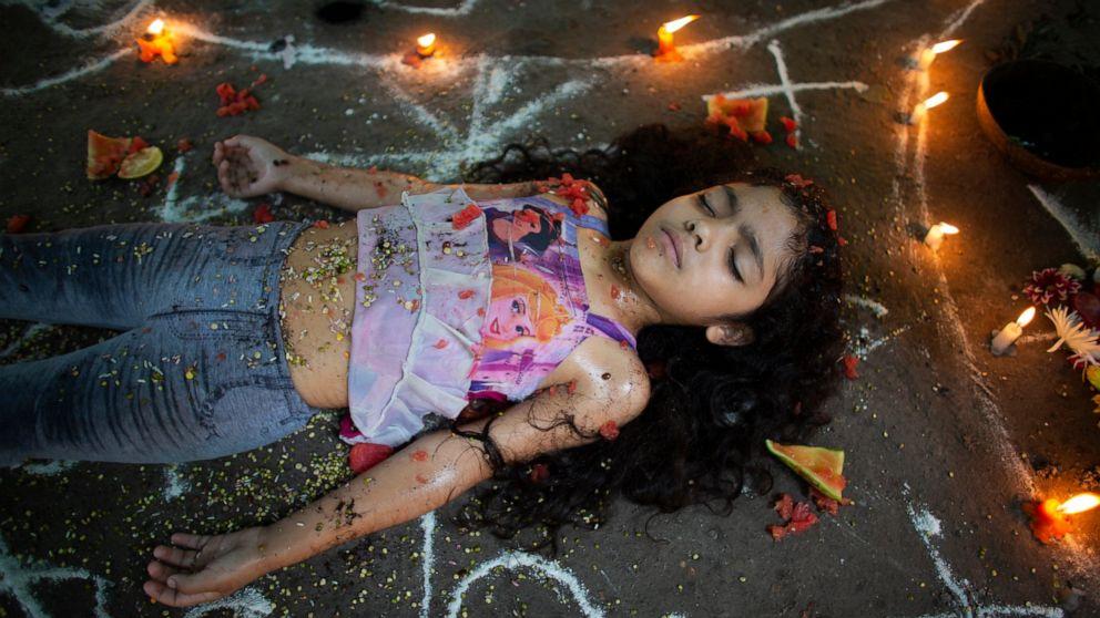 Venezuelans seek strength, healing from mythical goddess