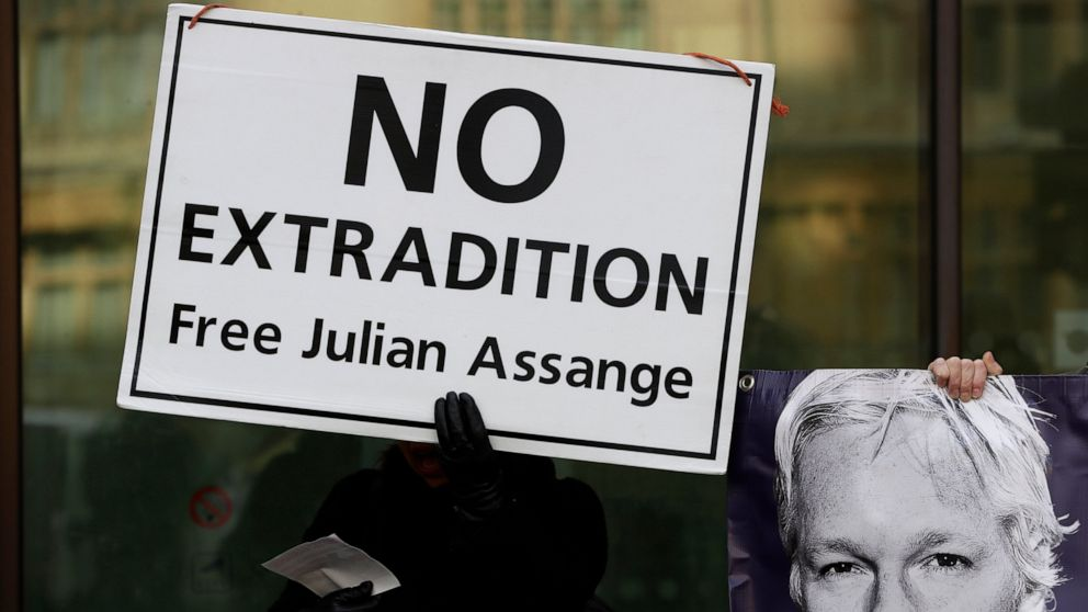 WikiLeaks' Assange in Großbritannien Gericht kämpfen Auslieferung in die USA
