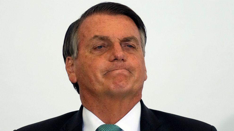 UN rule may be hurdle for Brazil vaccine skeptic Bolsonaro