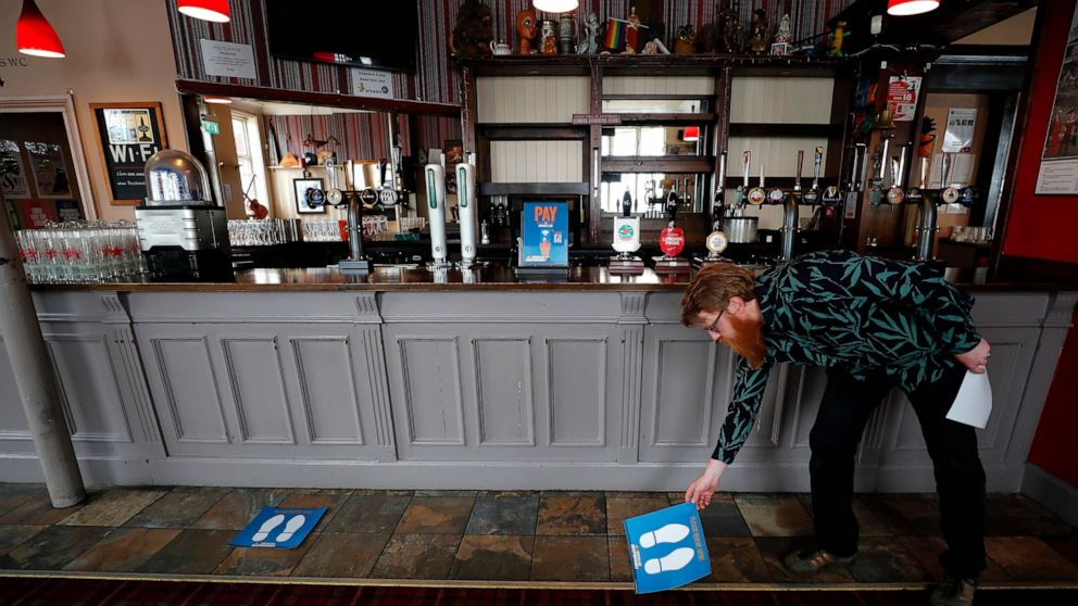 English pubs are reopening — they won't be the same