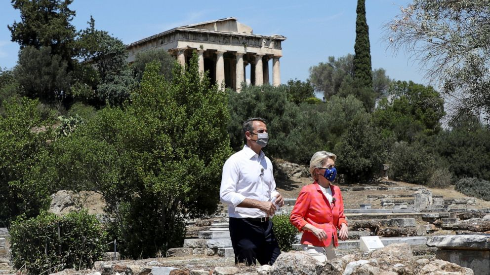 EU endorses massive pandemic relief for recession-hit Greece