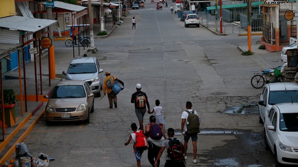 Mexico's crackdown on migrants sends some heading south