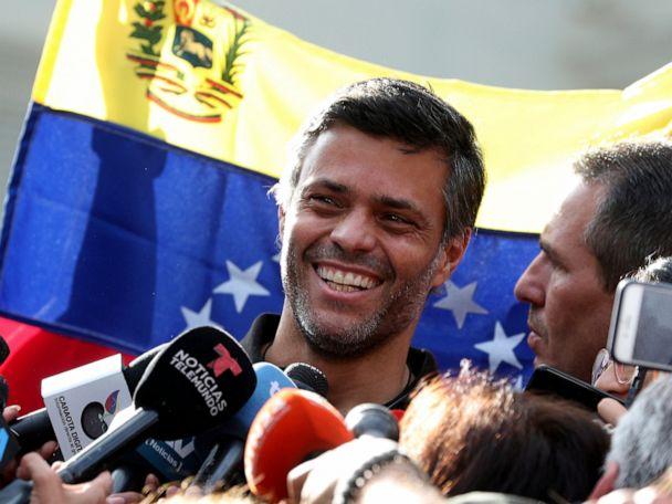 Opposition activist leaves embassy haven to flee Venezuela