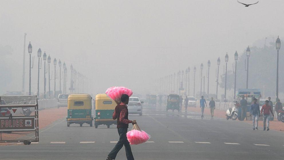 Luft Qualität sinkt auf