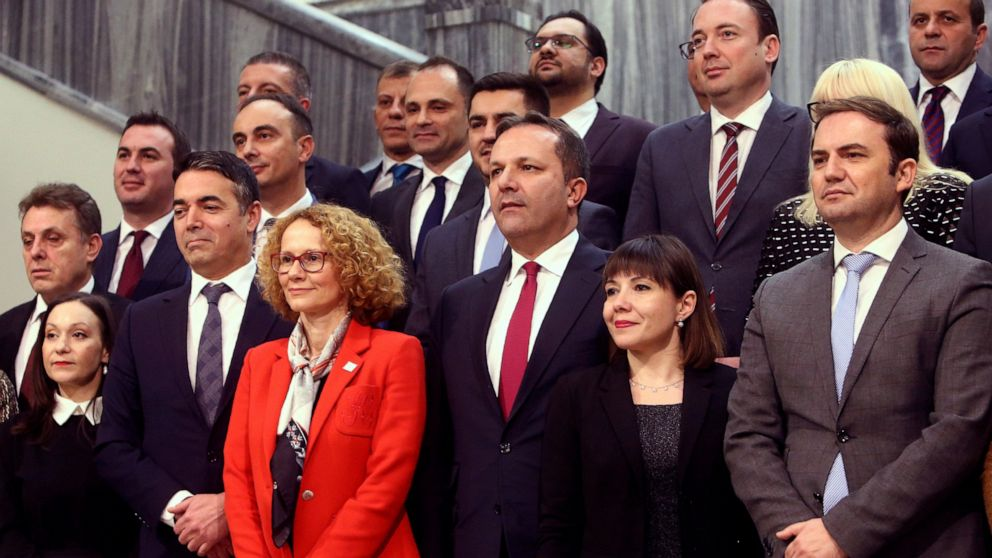 N Macedonia minister who stood by nation's old name removed