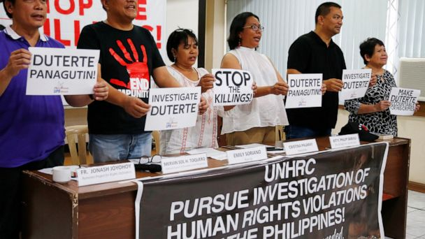 Duterte critics laud UN vote to scrutinize drug killings