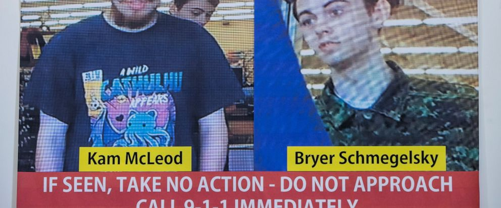 64d81e5d Security camera images of Kam McLeod, 19, and Bryer Schmegelsky, 18, are