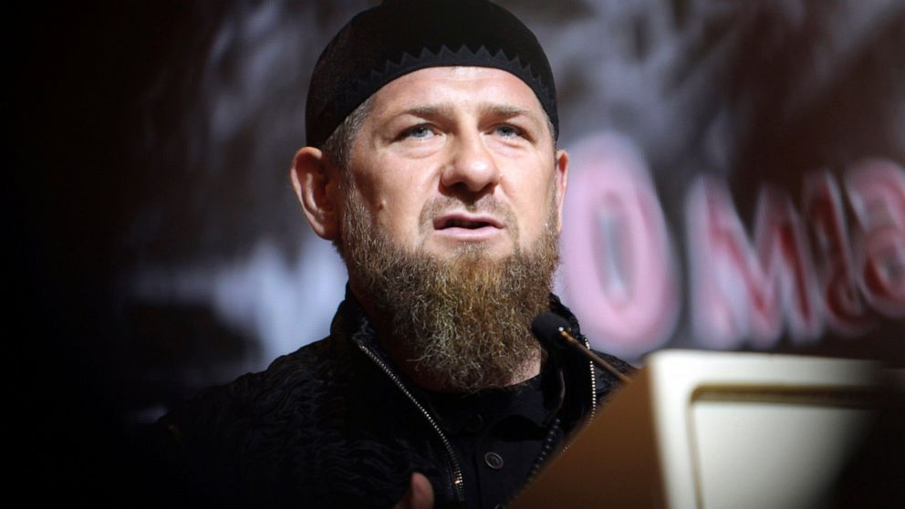 Chechen chief blames overseas spies for slaying his critics thumbnail