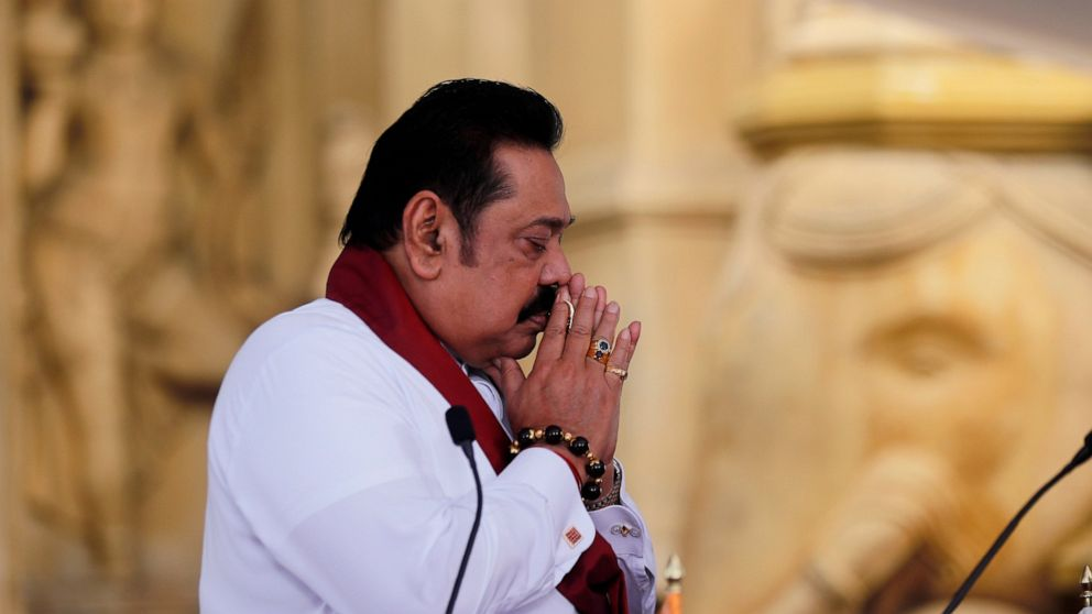 3 Rajapaksas sworn into Sri Lanka's new Cabinet after vote