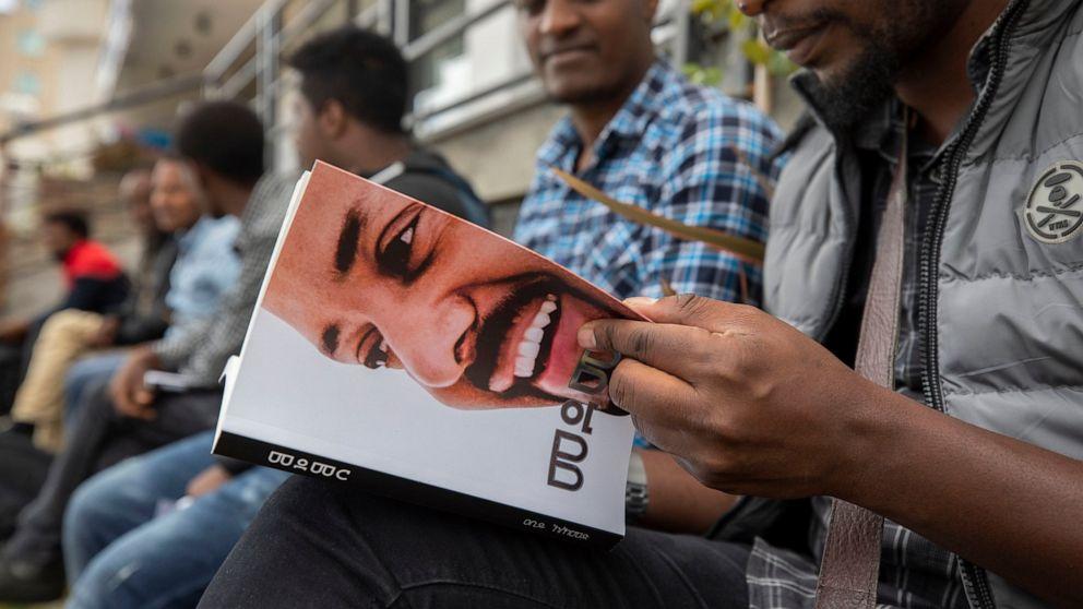Ethiopia's Nobel-winning leader launches million-copy book