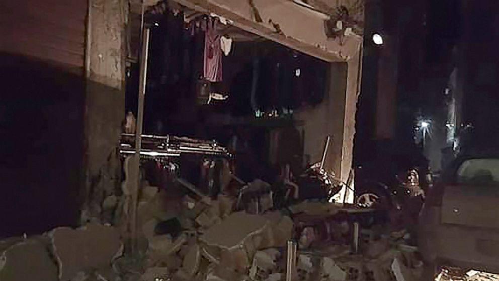Starkes Beben trifft Albanien FFF-mindestens 4 tote, 150 Verletzte