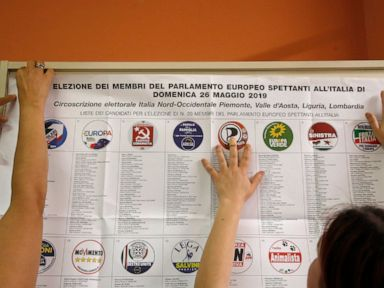 Europes voters elect new parliament as nationalism mounts