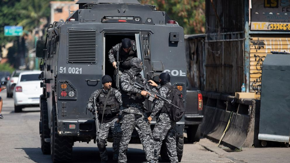 Rio: At least 25 deaths during a police operation in a slum