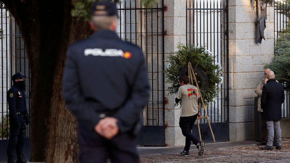 Η ισπανία ξεκινά την εκταφή τέλη του δικτάτορα Στρατηγού Φράνκο παραμένει