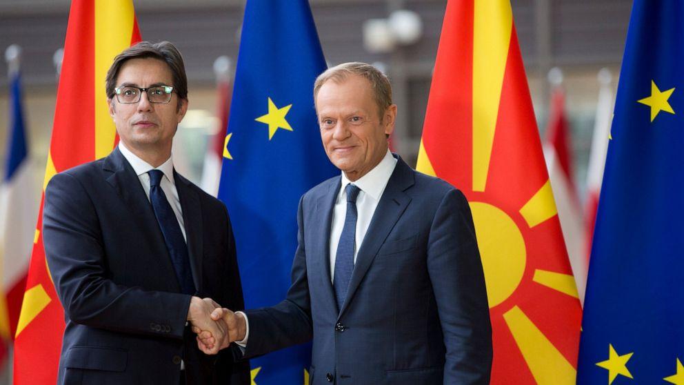EU chief open to North Macedonia Albania membership talks