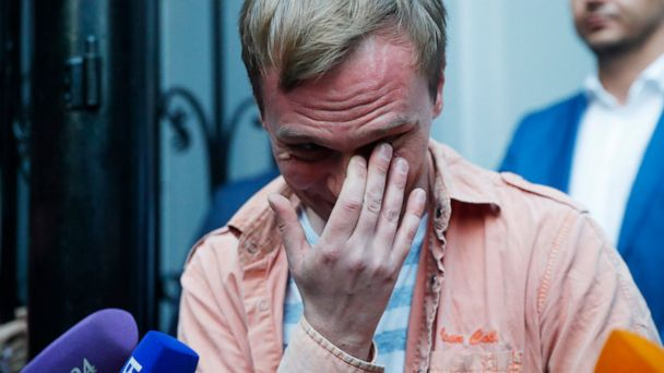 Russian journalist freed after police abruptly drop charges