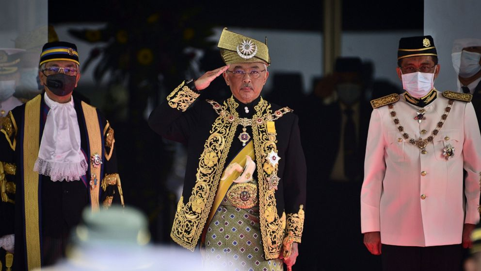 Malaysian king says Parliament must resume despite emergency