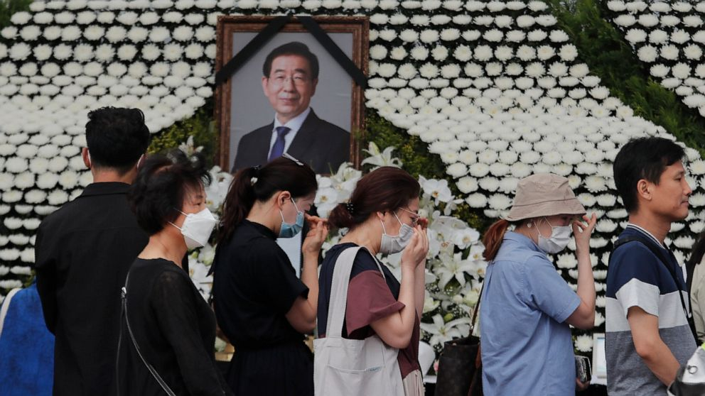 Online funeral set for Seoul mayor over virus issues thumbnail