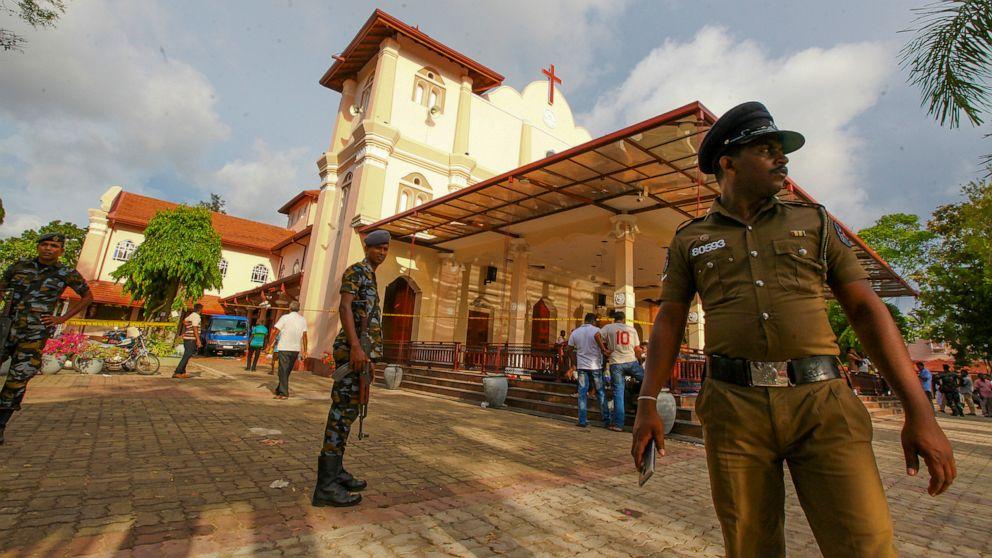 Sri Lanka's multiple blasts kill 228, injure 450