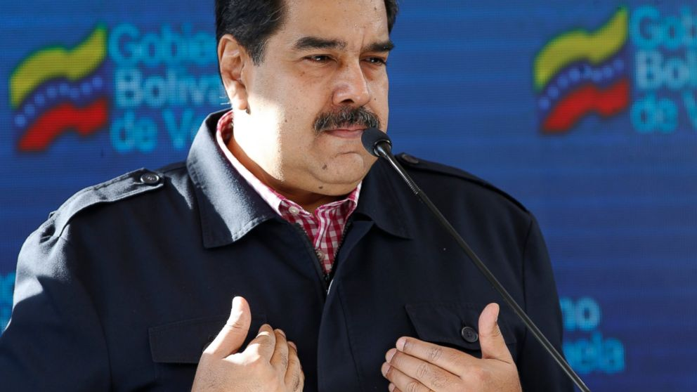 FILE - In this Dec. 9, 2018 file photo, Venezuela's President Nicolas Maduro speaks after voting in local elections in Caracas, Venezuela. A Venezuelan Supreme Court justice who has been a longtime government loyalist has fled to the U.S., on Jan. 2019, saying he's protesting President Nicolas Maduro's plans for a second term. Christian Zerpa told Miami-based broadcaster EVTV that Venezuela's high court has become an appendage of Maduro's inner circle. (AP Photo/Ariana Cubillos, File)