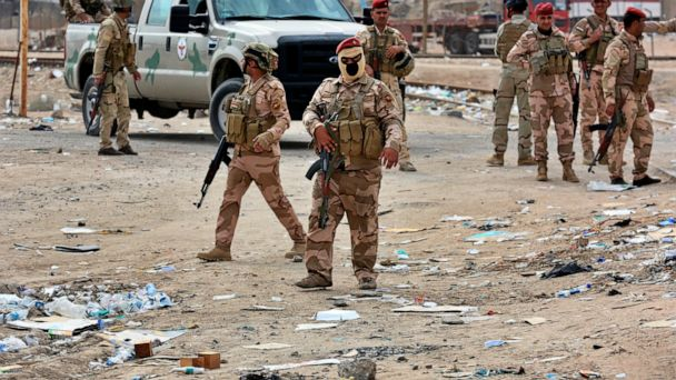 Iraq's key port closed again; 6 protesters killed in Baghdad