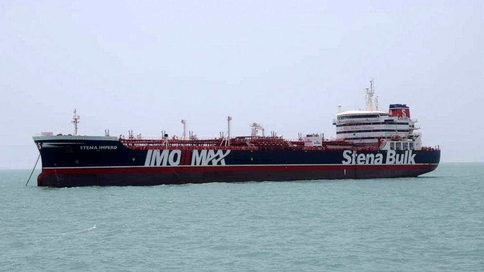 Audio shows UK navy trying to thwart Iran from seizing ship thumbnail