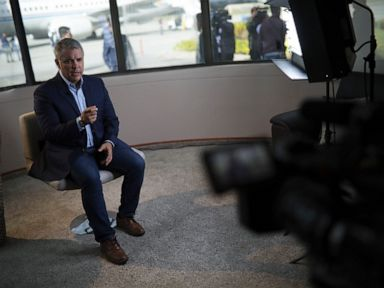 Colombia's president says Maduro's 'brutality' must end