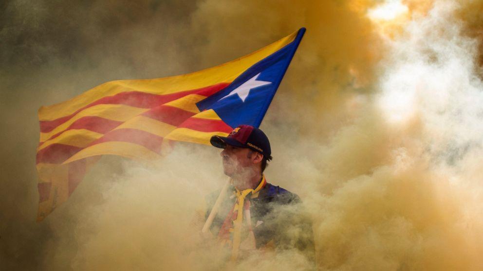 Massive rally for Catalonia's secession in Barcelona