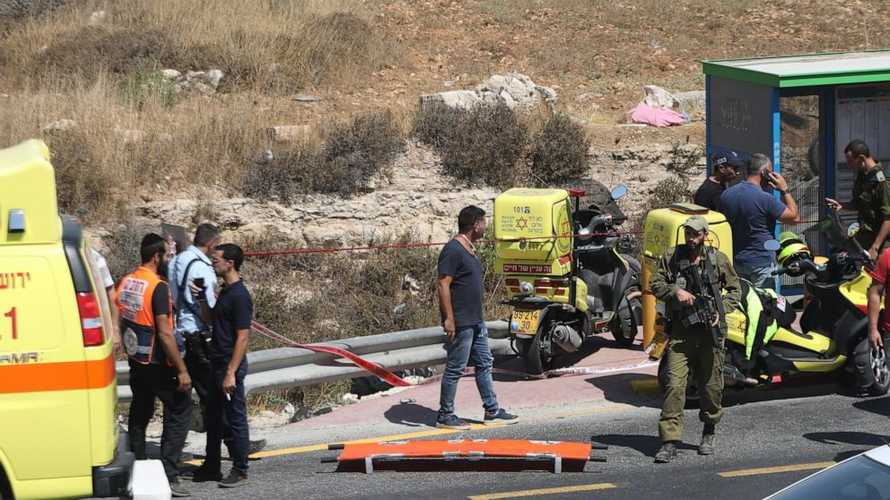 Police: Palestinian killed, 2 Israelis hurt in car attack
