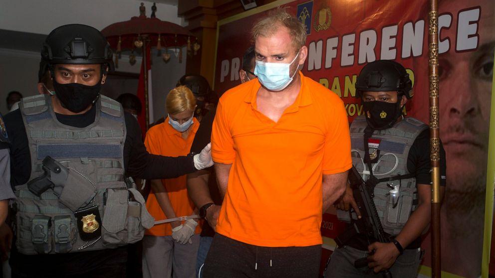 Russian fugitive arrested in Bali after fleeing deportation