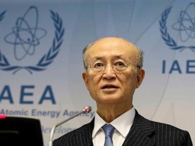 IAEA says its 72-year-old chief Yukiya Amano has died