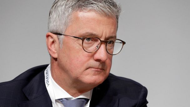 Prosecutors charge former Audi boss in emissions scandal