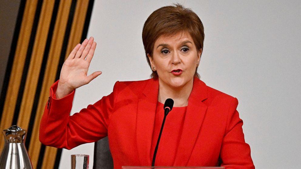 Under-fire Scottish leader defends handling of sex claims