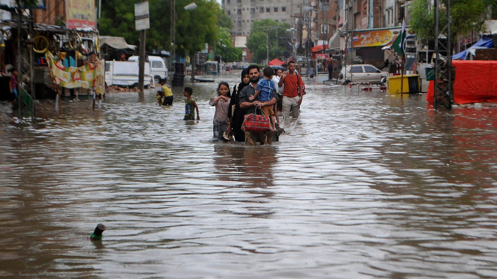 3 days of rains in Pakistan kill 90, disrupt life in Karachi - ABC News