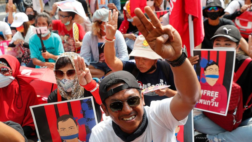 Thailand charges more activists with sedition, royal insults