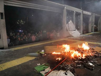 Mexico City assesses damage after violent feminist protest