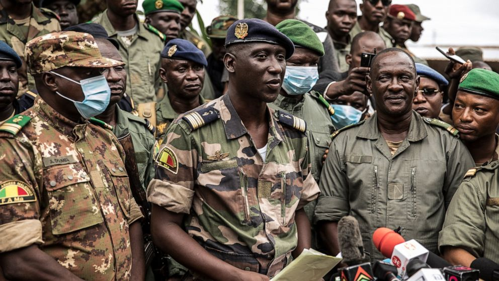 Mali army Col. Assimi Goita says he's in charge of junta thumbnail