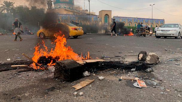Iraqi protesters attack Iran consulate in Karbala