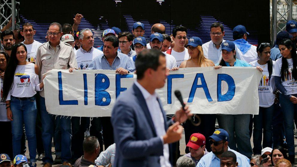 Venezuela's Guaido in video calls for military uprising thumbnail
