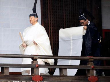 Japanese Emperor Naruhito ascends Chrysanthemum Throne