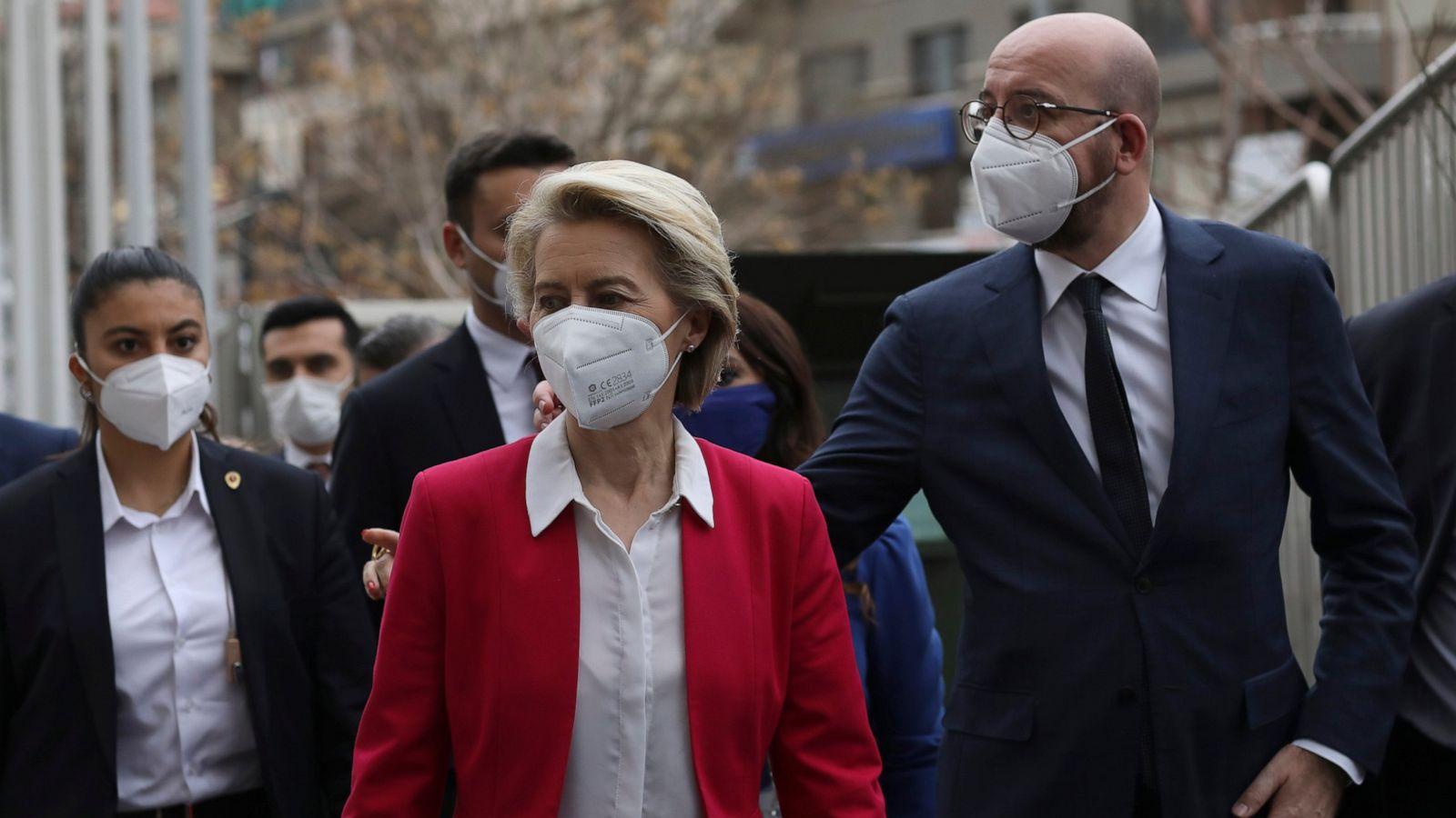 Turkey rejects claim it snubbed von der Leyen, blames EU - ABC News
