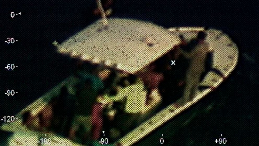 Coast Guard: 23 adrift for days rescued in Gulf of Mexico