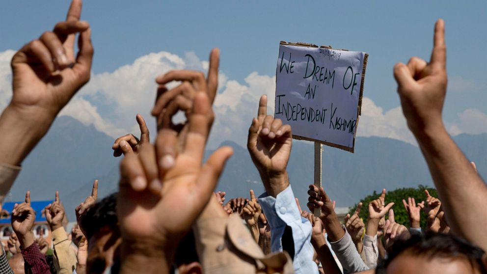 India says Kashmir improving but restrictions stay