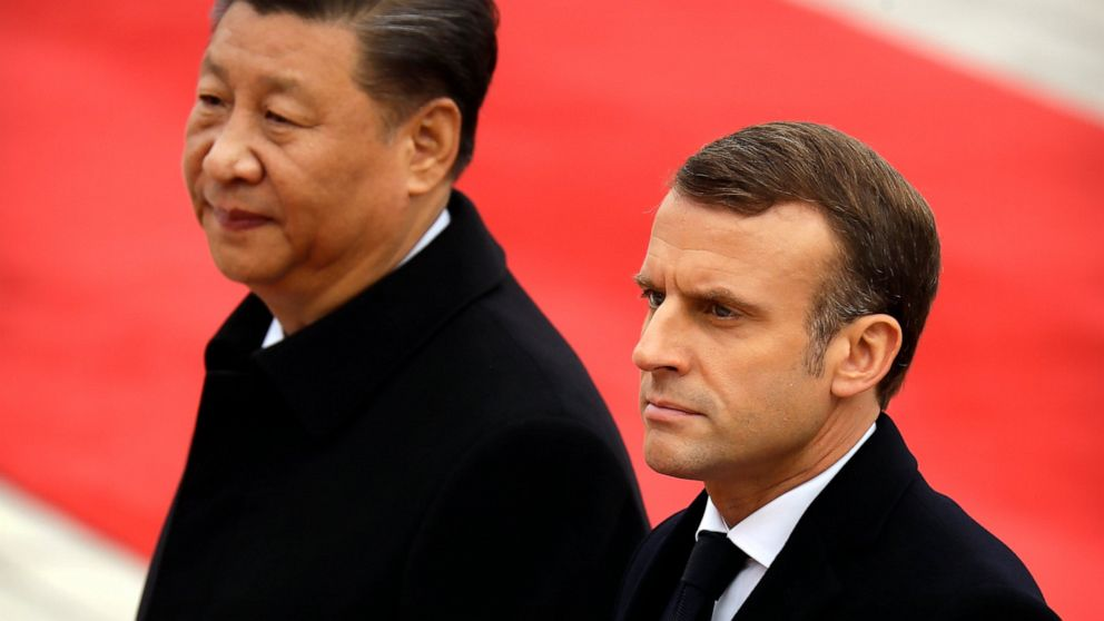 China ' s Xi: Macron besuchen Sie fördert den Multilateralismus, den freien Handel