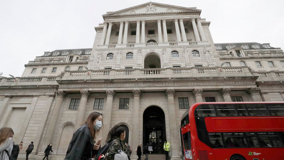 Bank of England: UK economy to shrink by most since 1706